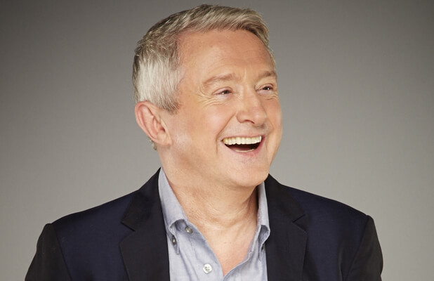 Louis Walsh after his hair transplant at HRBR